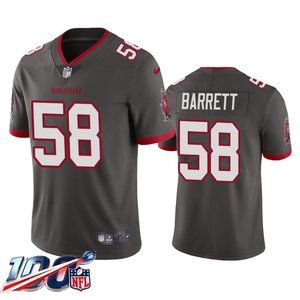Tampa Bay Buccaneers Shaquil Barrett Pewter Jersey